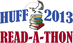 Huff Read-A-Thon 2013: Kindergarten banner