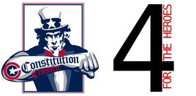Constitution CrossFit Supports 4 For The Heroes banner
