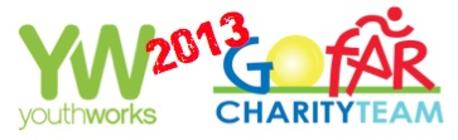 GoFar Charity: Team Youthworks 2013 banner