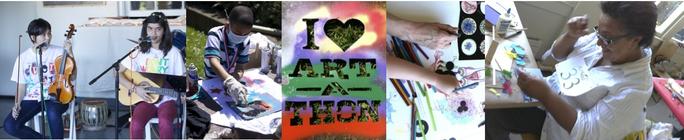 ArtSeed Art-a-thon 2013 banner