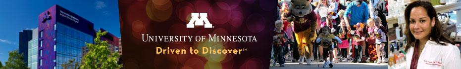 University of Minnesota Children's Hospital banner