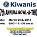 Kiwanis Division 10 Bowl-a-Thon