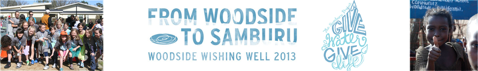 Woodside Wishing Well 2013 banner