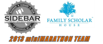 Family Scholar House Racing Team presented by Sidebar banner