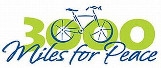 WARRENSBURG PEDALERS FOR PEACE banner