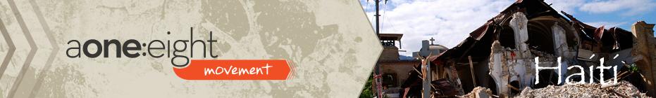 aone:eight Haiti 2013 banner