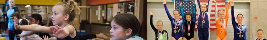 Gymnastics and Trampoline Programs banner