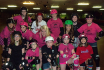 Holy City Chaos Junior Roller Derby banner