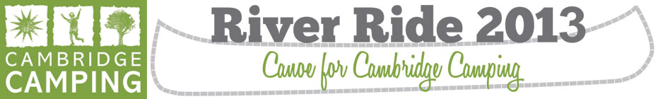 River Ride 2013 banner