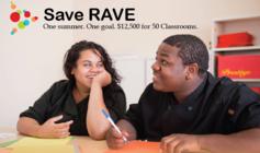 SAVE RAVE banner