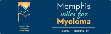 Memphis Miles for Myeloma banner