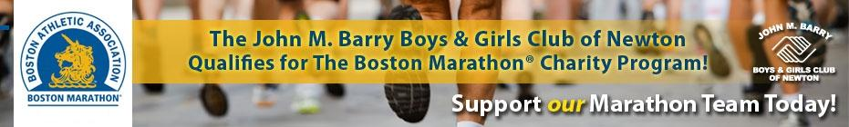 Boys & Girls Club 2014 Marathon Team! banner