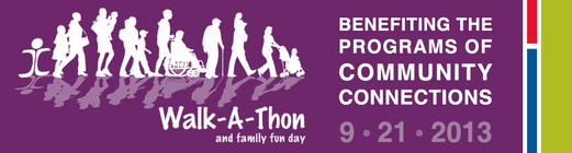 2013 Walk-A-Thon and Family Fun Day banner