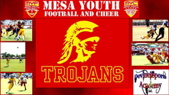 Mesa Youth Football Trojans banner