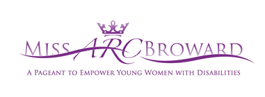 Miss ARC Broward Pageant banner