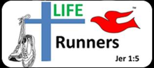 Abilene LIFE Runners defending the sanctity of life banner