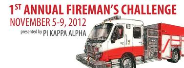 2nd Annual Fireman's Challenge banner