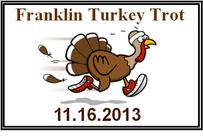 Franklin Elementary Turkey Trot - 2013 banner