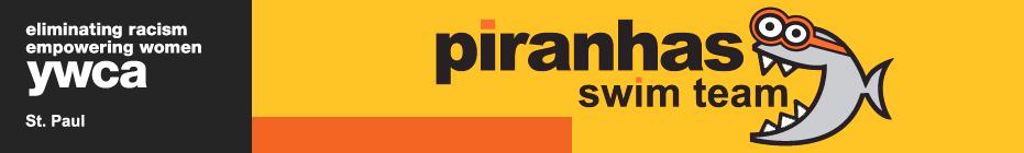 Piranhas Swim-a-rama 2013 banner