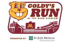 2014 Goldy's Run benefiting U of M Amplatz Children's Hospital banner