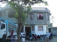 Colleen & Brenda Gibbons Haiti 180 Mission Trip Jan 2014 banner