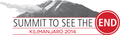 Summit to See the END: Kilimanjaro 2014 banner