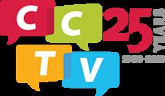 Cambridge Community Televison's 25th Anniversary Campaign banner