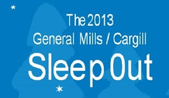 Cargill Sleep Out banner