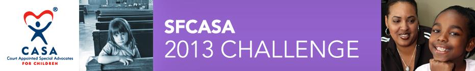 SFCASA 2013 Challenge banner