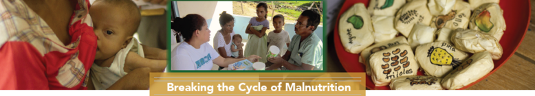 Help Break the Cycle of Malnutrition with AMOS! banner