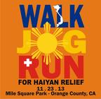 WALK-JOG-RUN for Haiyan Disaster Relief banner