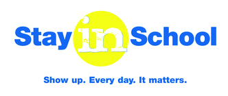 Stay in School Campaign banner