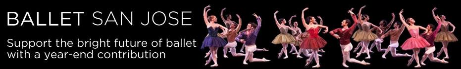 The Ballet San Jose Family banner