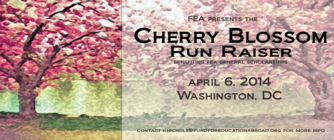 FEA Cherry Blossom RunRaiser banner