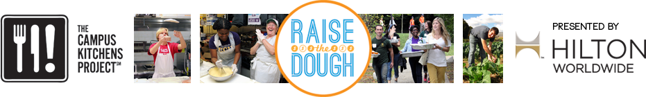 Raise the Dough Challenge 2014 banner