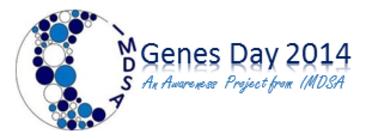 Genes Day 2014 banner