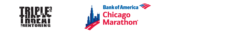 3T Bank of America Chicago Marathon Team banner