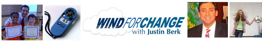 Wind for Change with Justin Berk banner