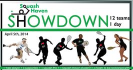 Squash Haven Showdown 2014 banner