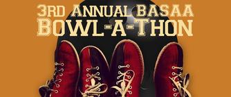 3rd Annual BASAA Bowl-a-Thon banner