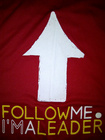 Follow Me I'm a Leader! banner