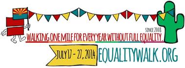 HERO Equality Walk banner