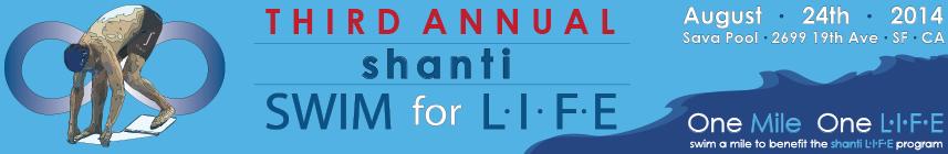2014 Swim for L.I.F.E. Event banner