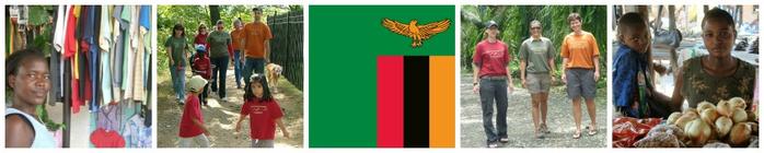 2014 Walk for Economic Empowerment - Team Zambia banner