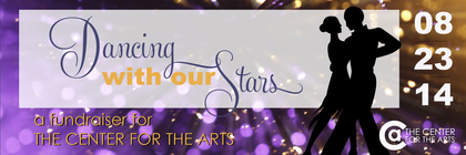 2nd Annual Dancing With Our Stars banner