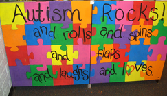 Nic's Team - Bowling for Autism & Autism Awareness banner