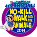 2014 No Kill Walk for the Animals