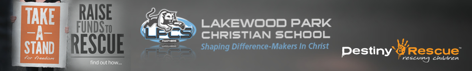 Take A Stand For Freedom: Lakewood Park Christian School banner
