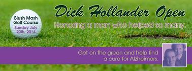 Dick Hollander Open banner
