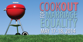 CookOUT for Marriage Equality banner